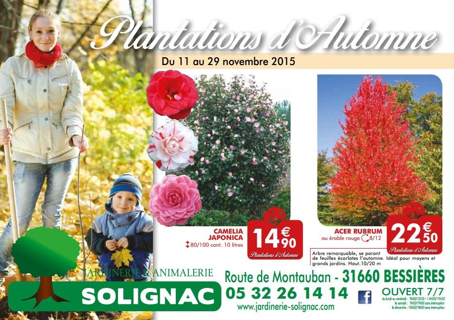 Bonnes affaires jardinerie solignac une jardinerie for Catalogue jardinerie